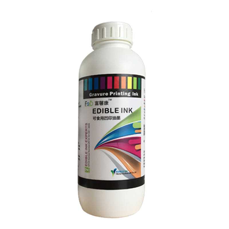 Edible Flexographic Printing Ink Printed on Edible Films
