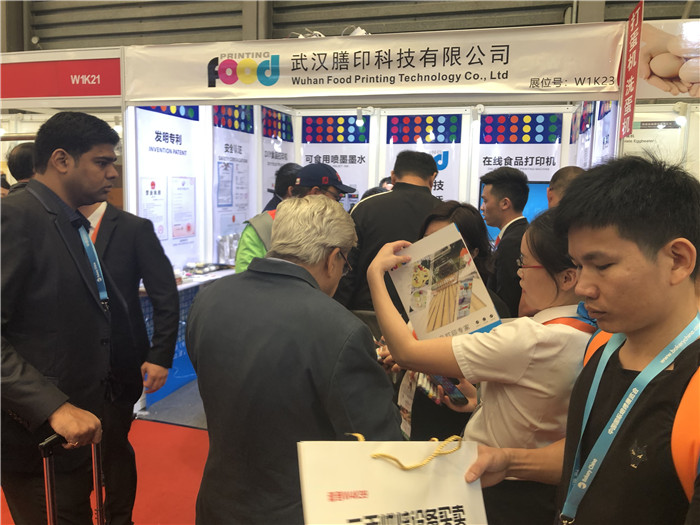 Many domestic and foreign customers come to visit and consult about Sinojoinsun's food printers