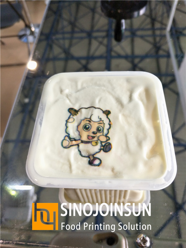 sinojoinsun online food inkjet printer print ice cream
