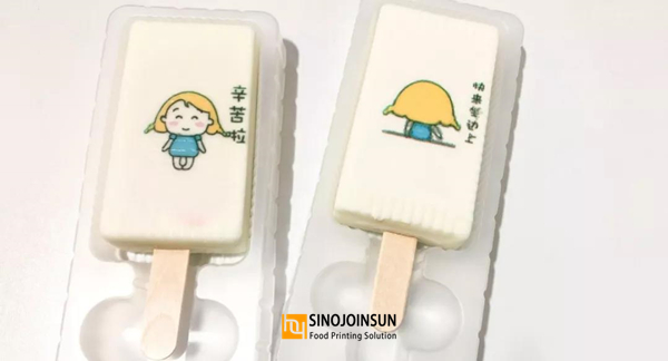 sinojoinsun edible print ice cream, ice cream printer