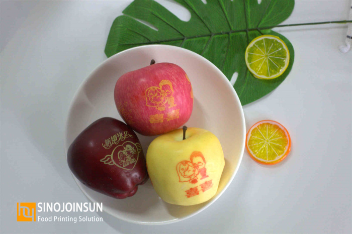 the wedding customized fruit printed love with sinojoinsun™ edible ink