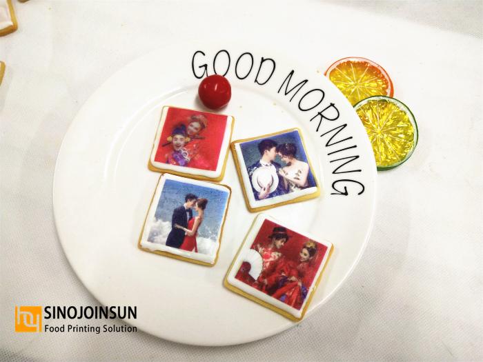 print icing cookie by Sinojoinsun™ desktop food printer