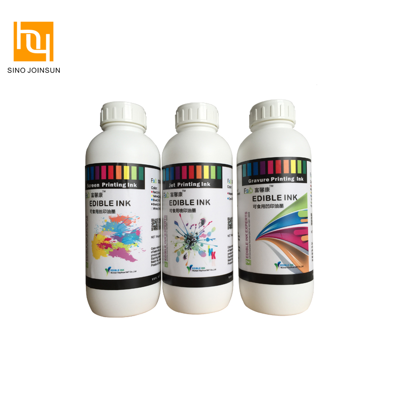 Safe Edible Pad Printing Ink for Candy, Fruit, Gum, Casule