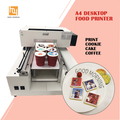 A Desktop Food Printer Prints Cake, Ice Cream, Cookie, Candy