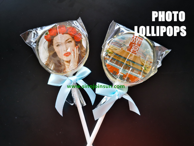 Whats the Photo Lollipop and Edible Photo Paper