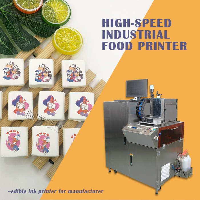 high-speed industrial food printer